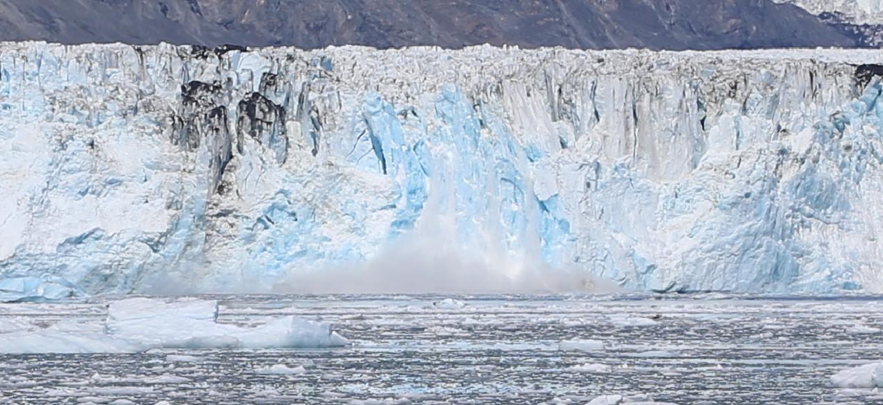 Breaking Glacier