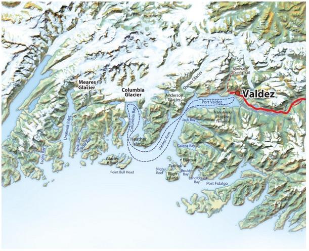 Columbia Glacier Tour Cruise